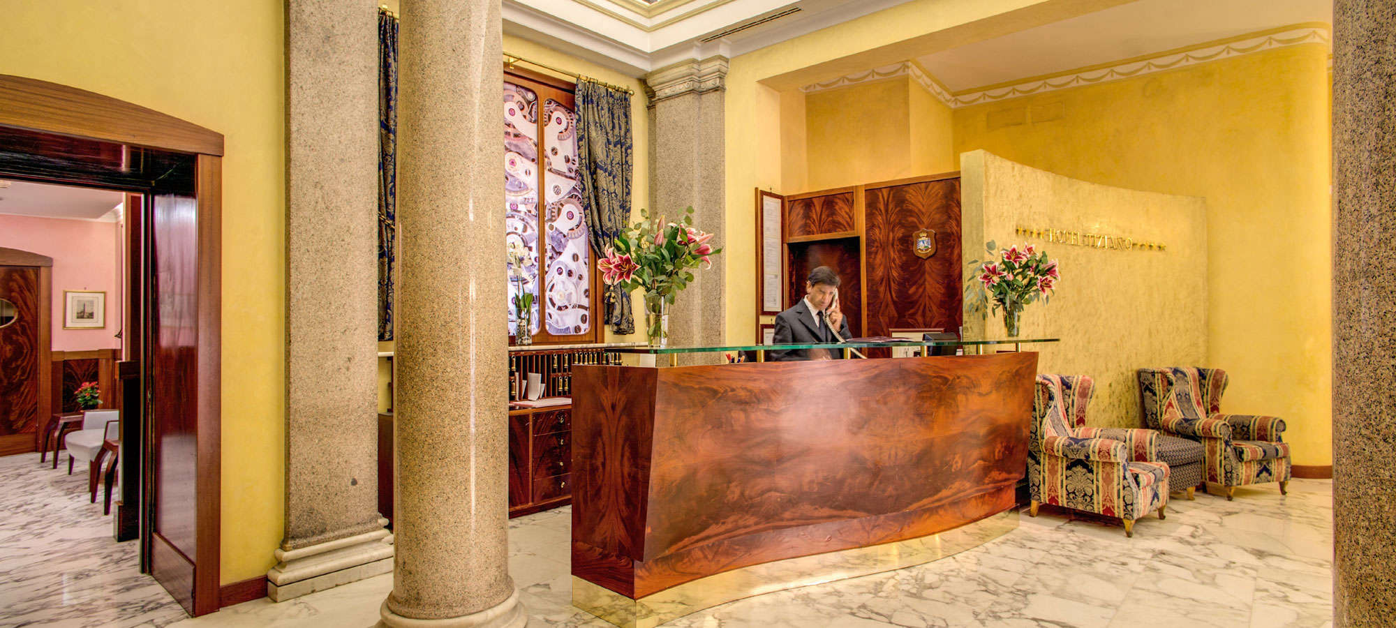 Hotel Tiziano Rome - Reception